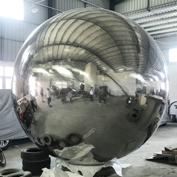 Large Hollow Steel Spheres Threaded Production Methods