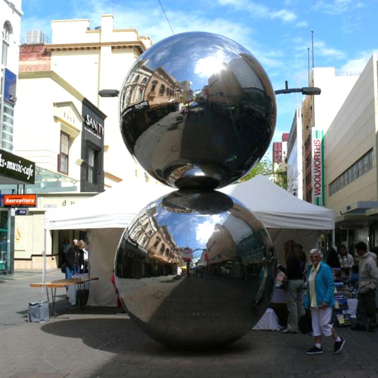 Merveilleux Large Stainless Steel Garden Spheres
