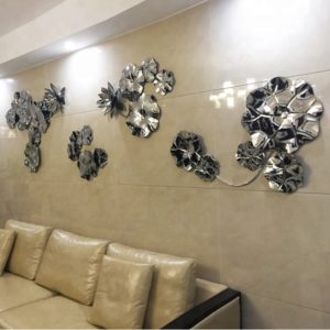 The-simple-lotus-stainless-steel-sculpture