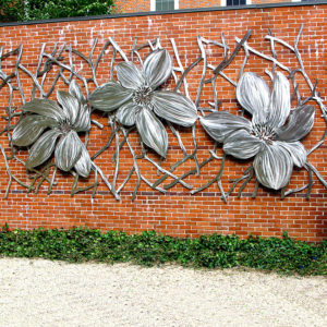 Wall Art Steel Sculpture For Sale