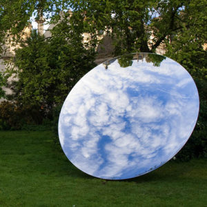 Anish Kapoor Sky Mirror Finish Steel Sculpture Reproduction