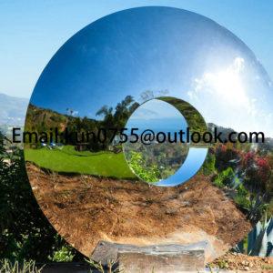 Steel Eye Sculpture