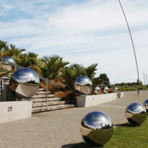Mirror Polished Large Outdoor Stainless Steel Spheres