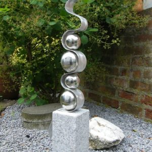 Sculpture Fantasia stainless Steel balls1_qqxb
