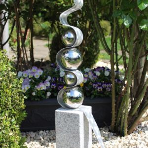 Sculpture Fantasia stainless Steel balls