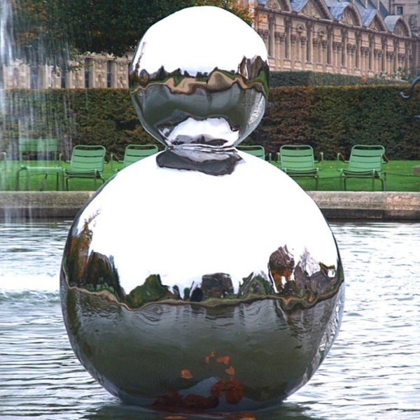 Stainless Steel Large Decorative Garden Metal Ball