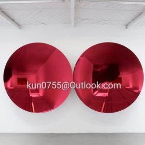 metal anish kapoor art mirror