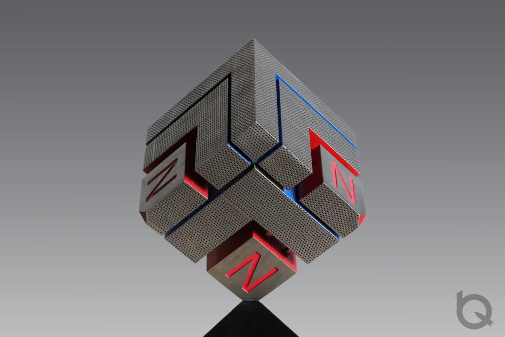 Urban stainless steel sculpture customization