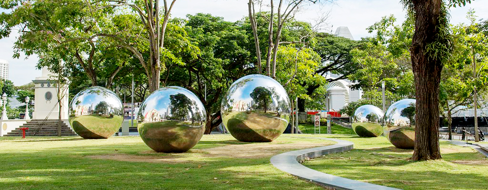 Merveilleux All Our Stainless Steel Sculptures And Stainless Steel Spheres Are  Handmade. Usually Used For Outdoor And City Decoration. It Can Also Be  Placed In A Garden ...